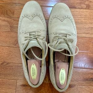 Cole Haan Grand OS Wingtips Suede - men's
